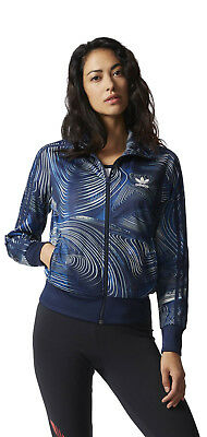 bcfc1dfb423a ADIDAS ORIGINALS GEOLOGY TREFOIL WOMEN S FULL ZIP TRACK JACKET TRACK TOP