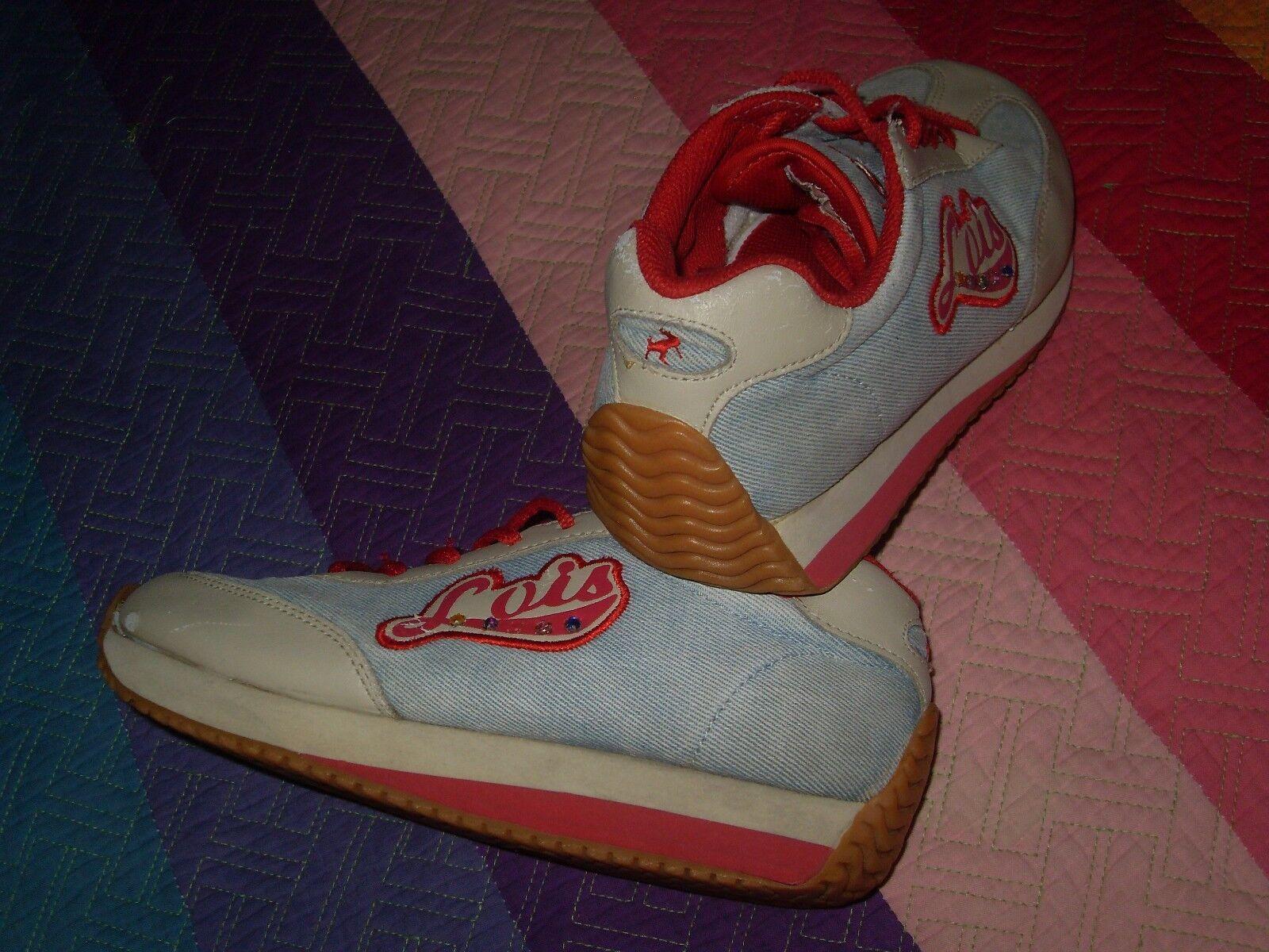 Zapatillas lois 36 originales abalorios comodisimas con un poco de silverforma