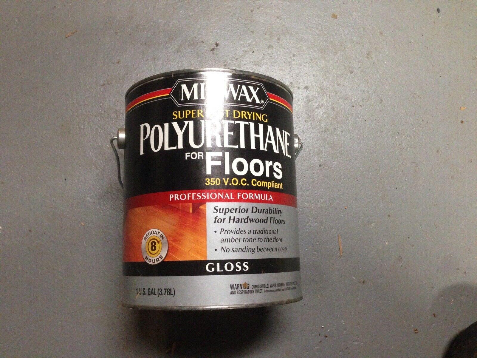 Minwax 13020000 Super Fast Drying Polyurethane For Floors 1 Gallon Gloss For Sale Online Ebay