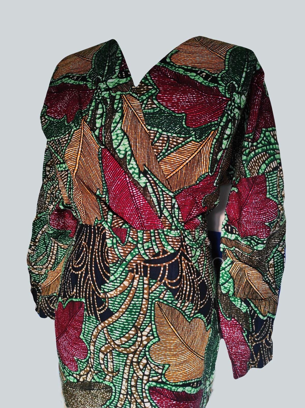 African Print Ankara Dress | Ankara Corporate Dress