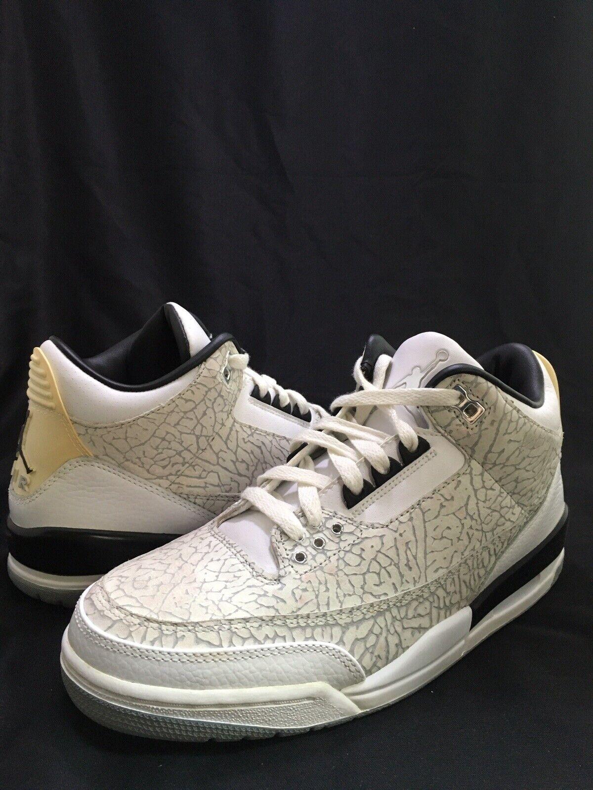 Jordan Retro 3 bianca Flip Dimensione 8