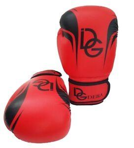 Deba® MMA Handschuhe leder Boxhandschuhe Kampfsport Boxen Grappling