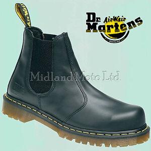 seguridad Chelsea de de Market con Botas Dealer Dr Airwair acero Martins punta Martens Doc xTqX8va