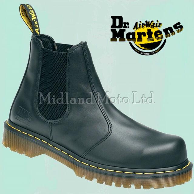 4de02037b3 Dr. Martens Dealer AirWair Steel Toe Cap Safety Boots Chelsea Market Doc  Martins