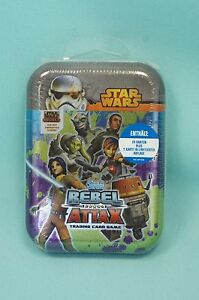 Topps-Star-Wars-Rebel-Attax-Mini-Tin-Box-OVP-24-Karten-Limitierte-Auflage
