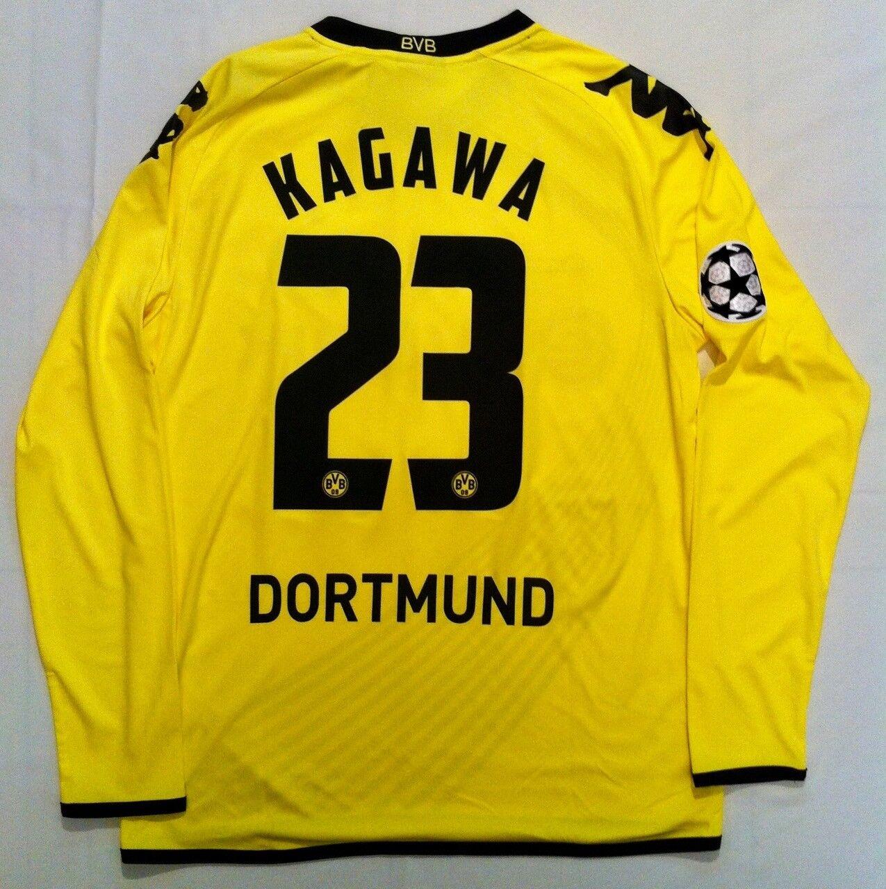 Camiseta Borussia Dortmund Kappa Champions League 2011 2012 Shinji Kagawa