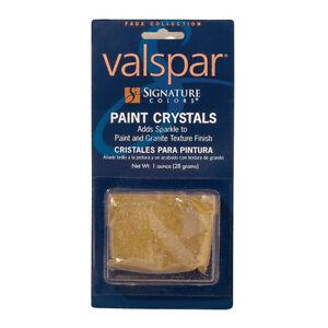 Valspar Signature Gold Paint Crystals Glitter Paint Sparkle Ebay