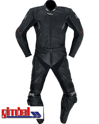 """Sporting Goods Other Cycling Clothing Systematic Ixs Leather Suit """" Conquest """" 2 Pcs Men's Size 60 Schwarz 1-a Nappa Leather Luxuriant In Design"""