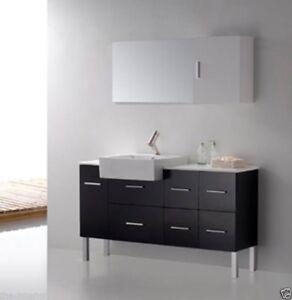Bathroom Vanity Modern Bathroom Vanity Set Single Sink Loza Ii Vanity Set 55 640265211492 Ebay