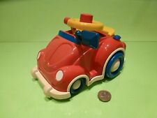 VINTAGE  VW VOLKSWAGEN BEETLE KAFER BUGGY- RED  L20.0cm - GOOD CONDITION