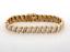 Estate-Diamond-Bracelet-14K-Yellow-Gold-2-32-CTW-Round-Diamonds-Ladies-7-034 thumbnail 1