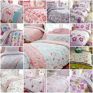 Image Is Loading Children 039 S Kids Girls Duvet Quilt Cover