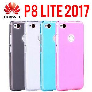 custodia huawei p8 lite 2017 silicone trasparente