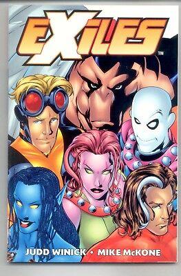 EXILES #9 ARABIAN NIGHTS PART 1 MARVEL COMICS X-MEN BLINK BLOWOUT BOX $4 COVER