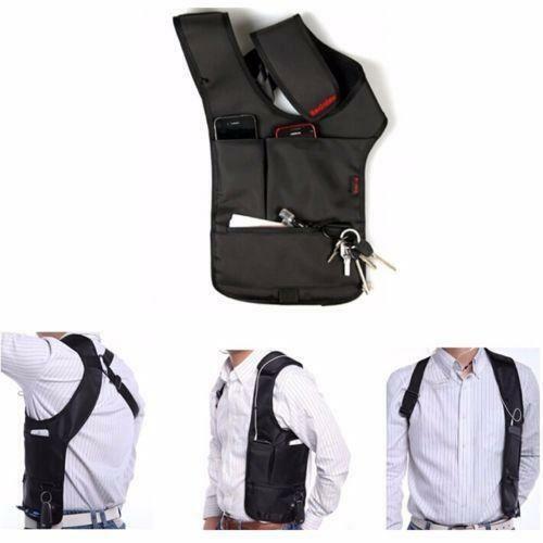 Underarm Holster Anti-Theft Single Shoulder Bag Hidden Card Wallet Cell Phone H