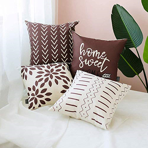 4 Packs Throw Pillow Case Decorative Modern Simple Geometric Throw Covers Cover For Sale Online Ebay
