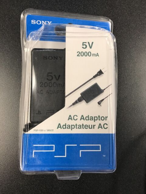 New Sony PSP AC Adaptor PSP-100u / 98522