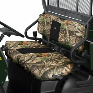 Quadgear Black Seat Cover Heavy Duty Water Resistant Kawasaki Mule 600 610