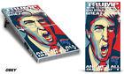 Custom Cornhole Wrap for Bean Bag Toss Game Corn Hole Decal Sticker Trump OBEY
