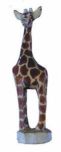 Beautiful-Hand-Carved-Giraffe-in-Jacaranda-Wood