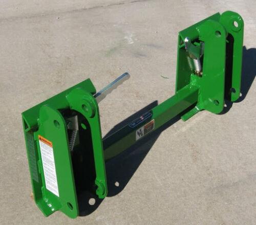 John Deere 146 148 158 Series Loader To Skid Steer Quick Attach Adapter 831875