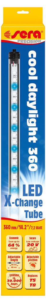 Sieri LED X-Change Tube COOL DAYLIGHT, 7,2 - 27 W, Single Pack & 2er sparpack