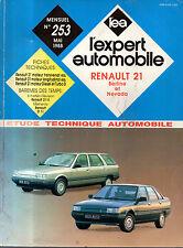 RTA revue technique automobile N° 253 RENAULT 21 R21 BERLINE ET NEVADA