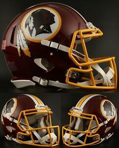 WASHINGTON-REDSKINS-NFL-Riddell-SPEED-Full-Size-Replica-Football-Helmet