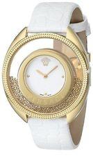 Versace Women's 86Q70D002 S001 Destiny Spirit Gold PVD Leather Band Watch