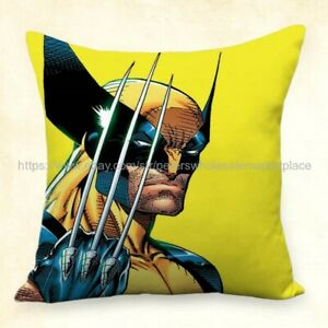 Details about US Seller,home decorating ideas living room Wolverine Marvel  comic cushion cover