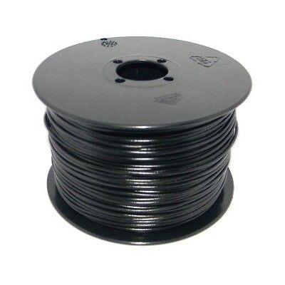 (0,12€/m) 100 Meter Spule Litze / Kabel 0,14mm² SCHWARZ