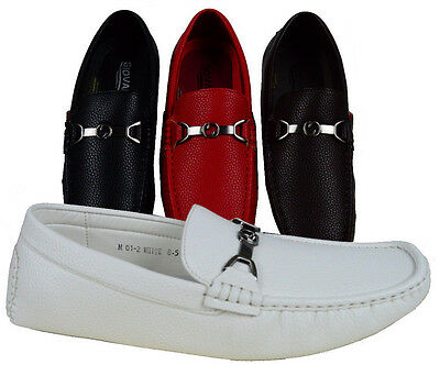 MEN GIOVANNI DRESS SHOES LOAFER CASUAL WEDDING PROM SLIP-ON MEDIUM (D,M) SOLID
