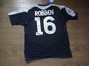 newest 189c8 f8a7e Details about Chelsea #16 Robben 100% Original Jersey Shirt XL 2004/05 CL  Away Still BNWT NEW