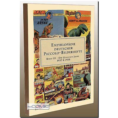 Enzyklopädie Deutscher Piccolo-Bilderhefte 3 COMIC Faszination - Lehning LP 50er