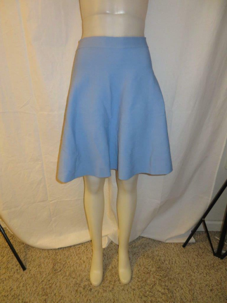Womens Mm Miss Meme Periwinkle Knit A Line Skirt Sz 18 For Sale Online Ebay
