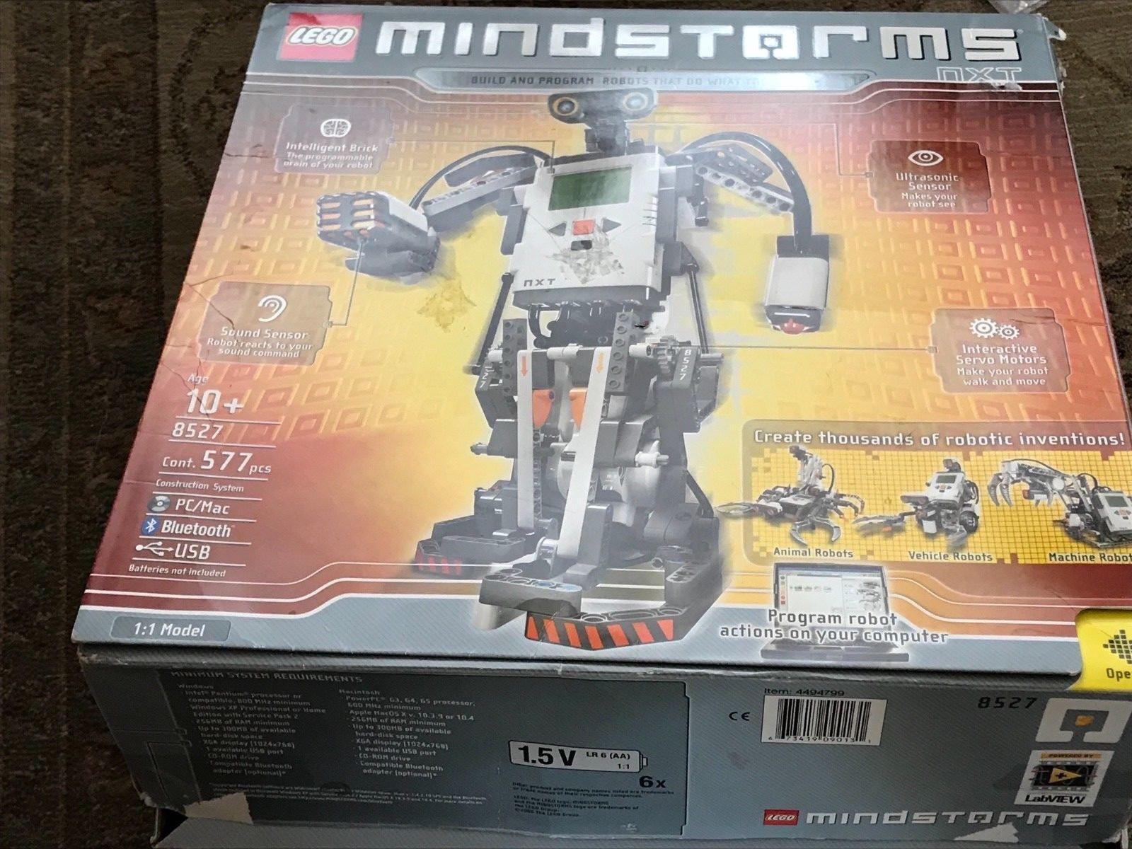 Lego  Mindstorms NXT (8527) Robotics complet  magasin en ligne de sortie