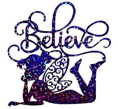 Vinyl Tinker Bell Decal//Wall//Laptop//Tablet //Car Decal//Art n Crafts//Fairy