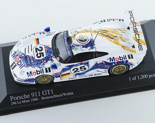 Porsche 911 GT1 24h le mans 1996 Boutsen-Stuck-Wollek 430966625 1 43 Minichamps