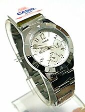 Casio Modern LTP-2069D-7A2 Ladies White Dial Day Date Analog Quartz Dress Watch