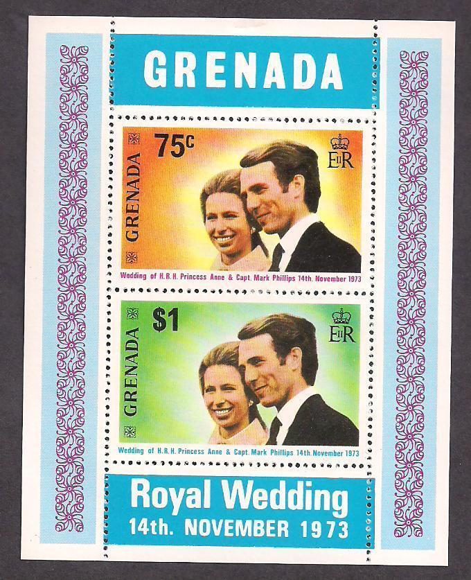 Grenada Stamp-Scott  # 517a/A77-Souvenir Sheet-Mint/NH-1973