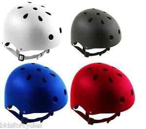 Bicicleta-BMX-Truco-Scooter-Patineta-Skate-Casco-Crash-Todas-las-Tallas-y-Colores