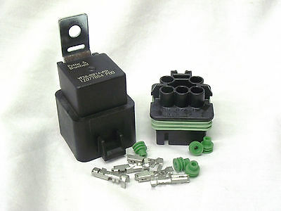 Kit 12vdc Hi Performance 40 Amp Potter Brumfield Relay Kit Complete Vf28-65f14