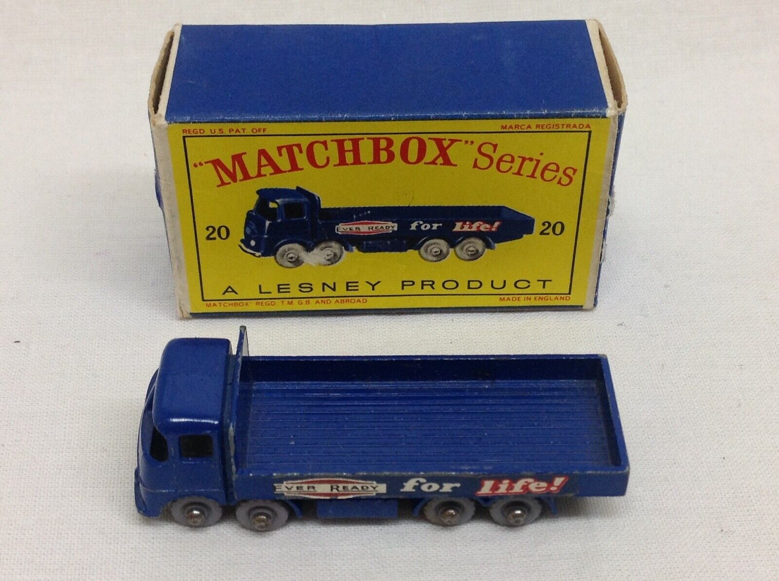 MATCHBOX SERIES LESNEY   20 transport camion camion + BOX