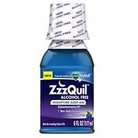 Zzzquil Nighttime Sleep-aid Alcohol Free 6 Oz on sale