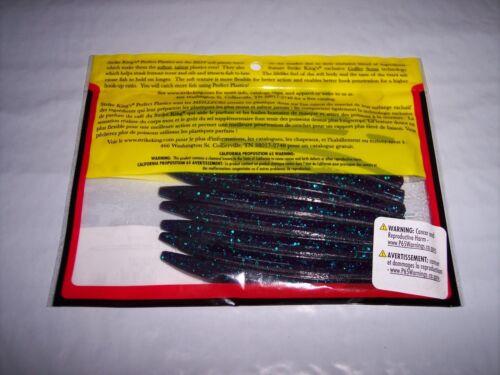 """Strike King Ocho cette méthode Senko style Stick Ver parfait en plastique de 6/"""" Pack de 6"""