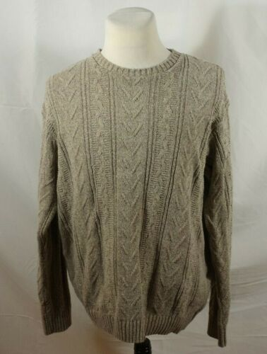 Vintage Woolrich John Rich and Bros Tan Sweater XL