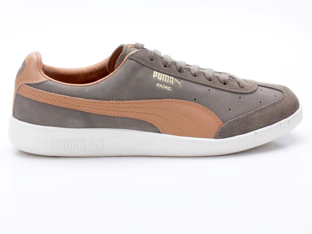 PUMA Madrid tanned 363806 02 verde-marrone Scarpe classiche da uomo