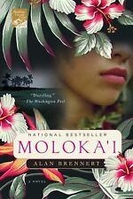 Moloka'i paperback book by Alan Brennert FREE SHIPPING Molokai historical fic