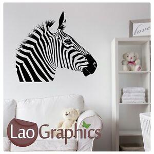 Zebra-Head-Animal-Wall-Decal-Removable-Wall-Transfer-Animal-Vinyl-Decal-RA24