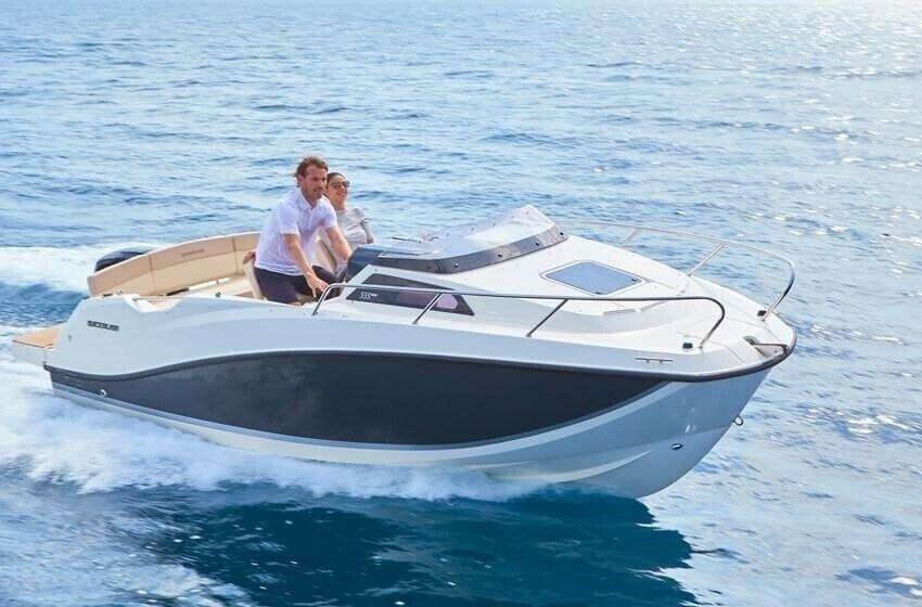 Quicksilver, Kabinebåd, fod 7